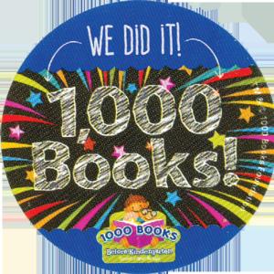 We Did It-1000 Books