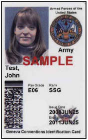 Federal or Military ID