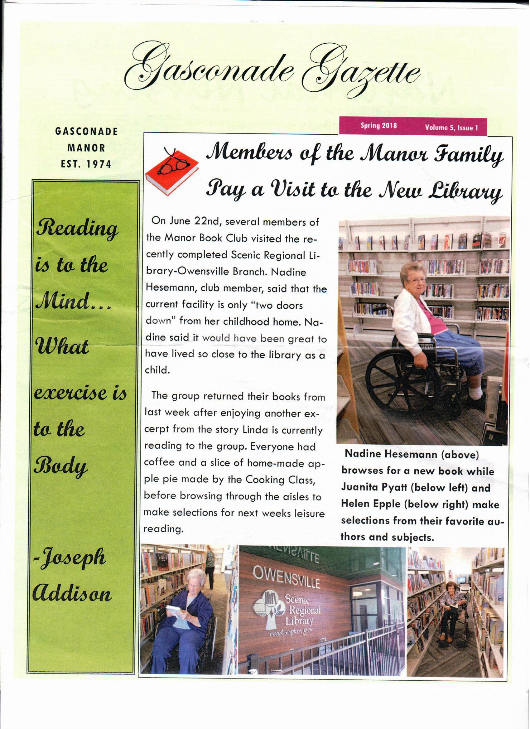The Library in the News – Scenicregional