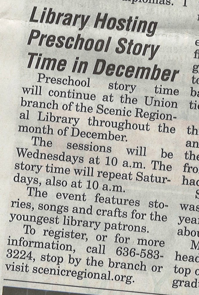 The Library In The News Scenicregional