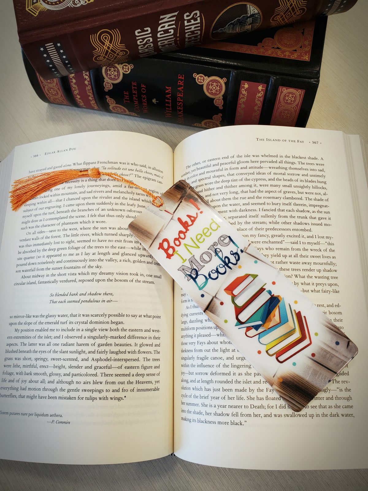Need More Books Bookmark