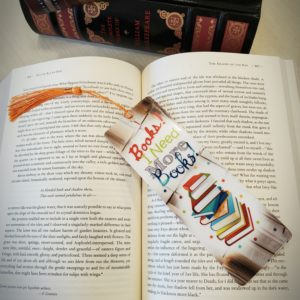 Need More Books Bookmark