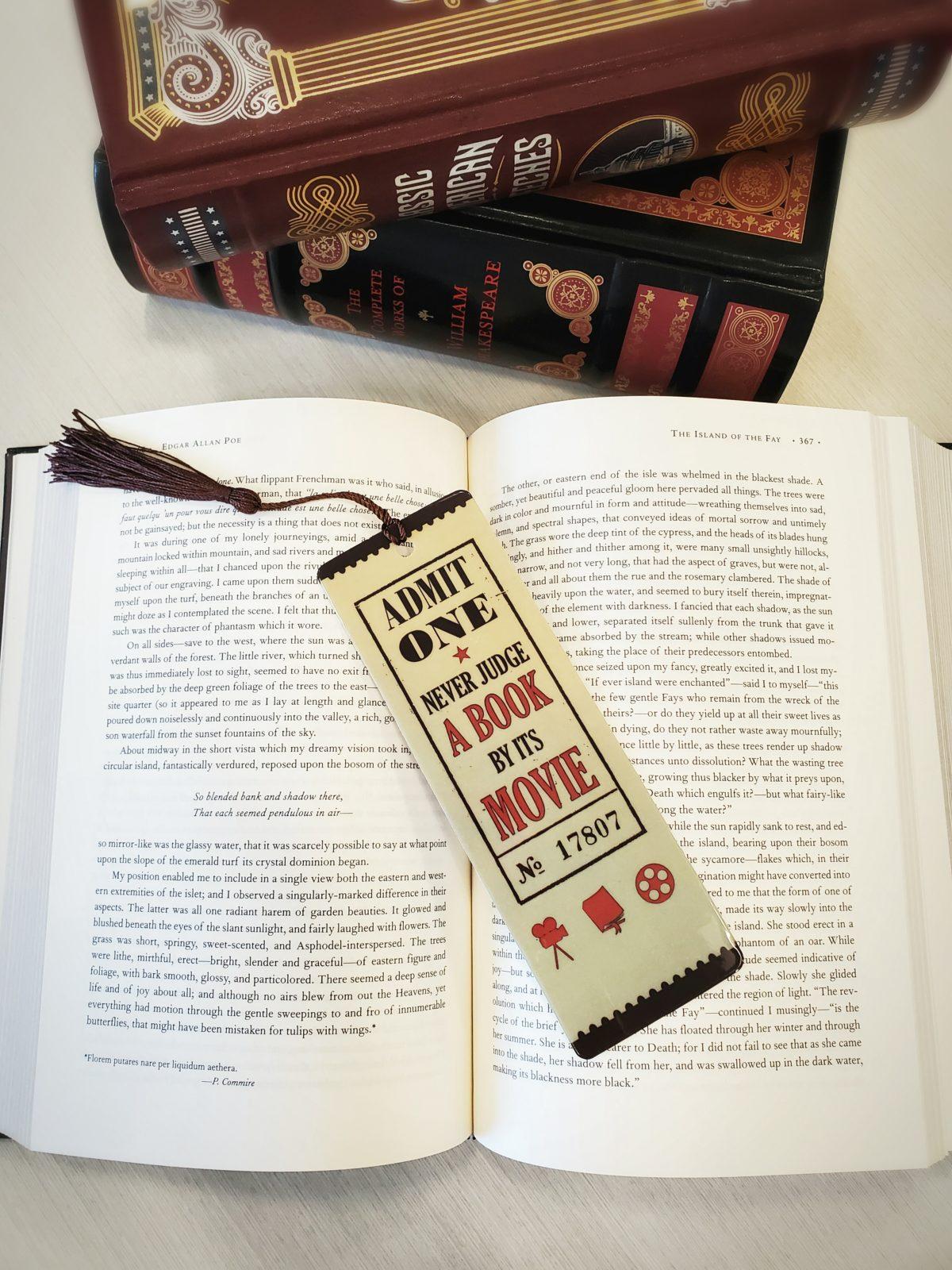 Never Judge Bookmark