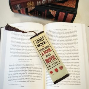 Never Judge Bookmark